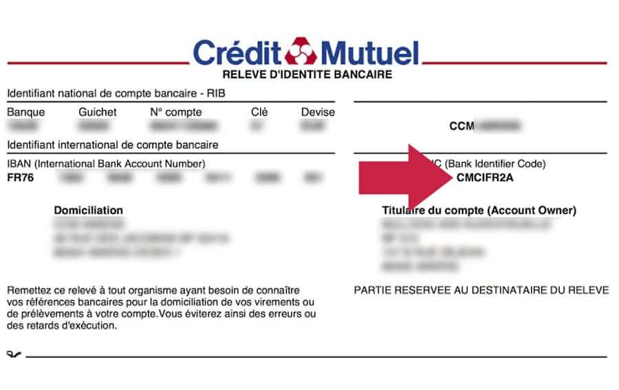trouver la banque avec le bic  u2013 01 banque en ligne