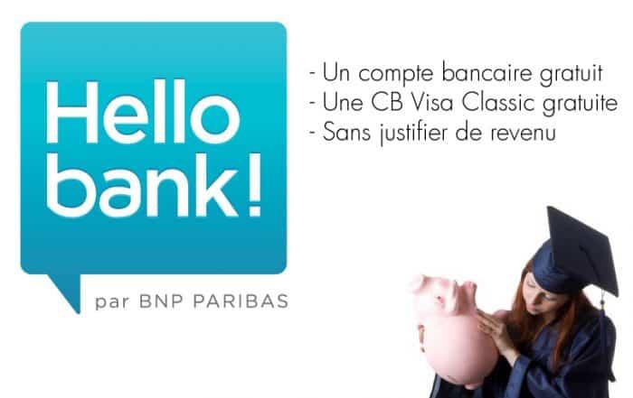 compte bancaire sans revenu etudiant