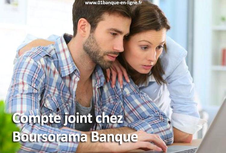 Compte joint Boursorama banque