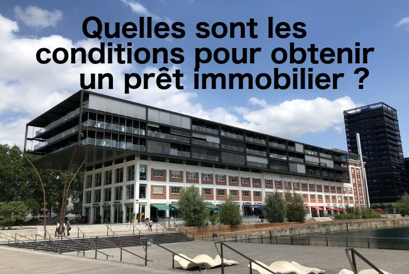 condition credit immobilier