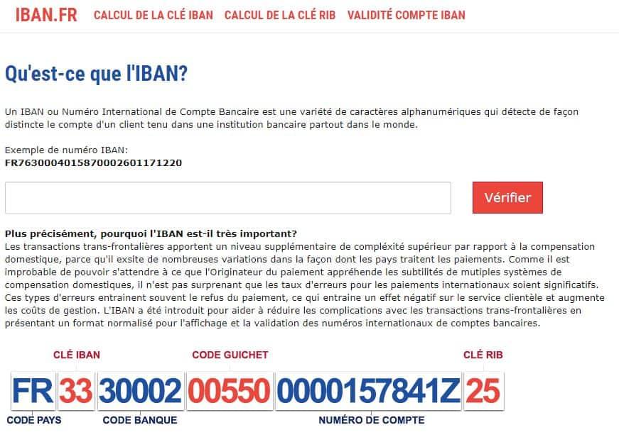 Connaître la domiciliation bancaire avec IBAN – 01 banque en ligne 7b5ab2e99450