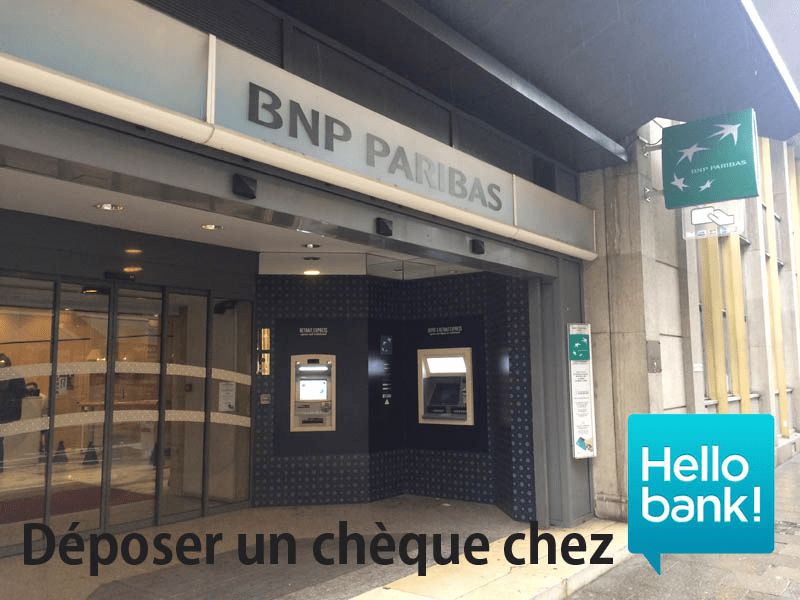 deposer un cheque chez hello bank