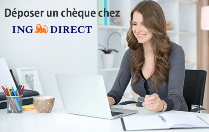 deposer cheque chez ing direct
