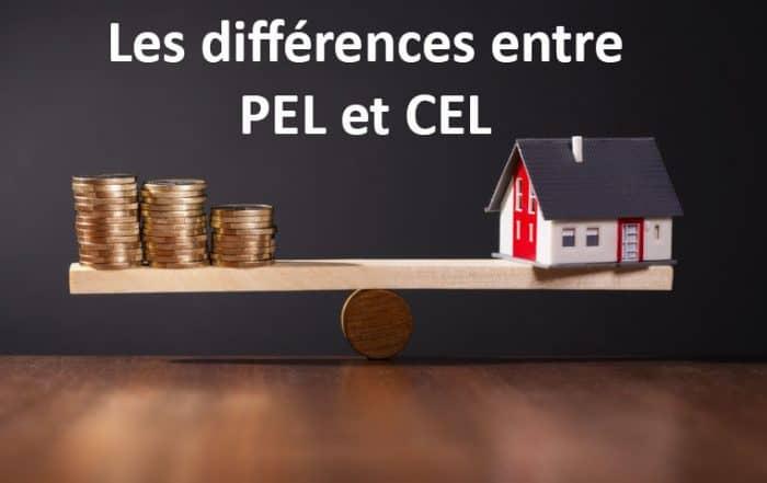 Différences PEL et CEL