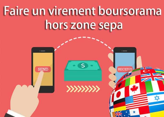 Faire Un Virement Hors Zone Sepa Boursorama 01 Banque En Ligne