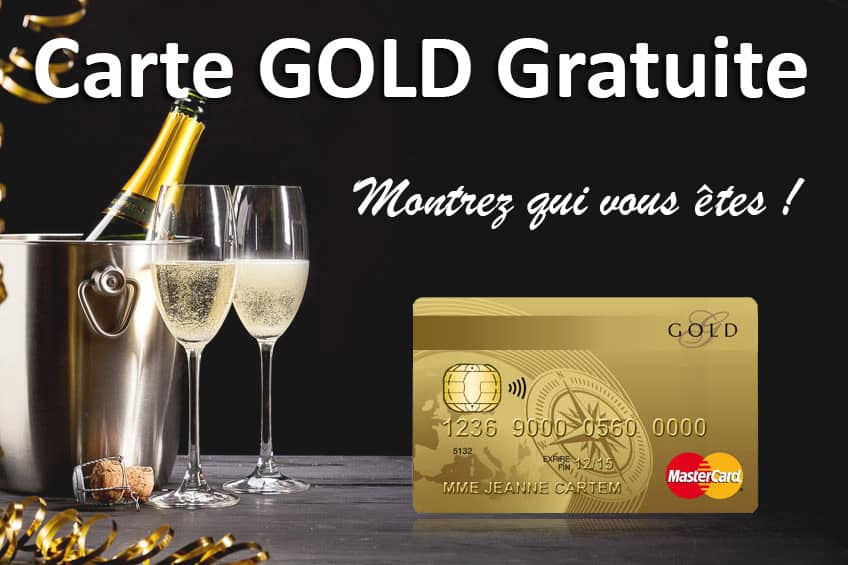 avoir gold mastercard gratuite