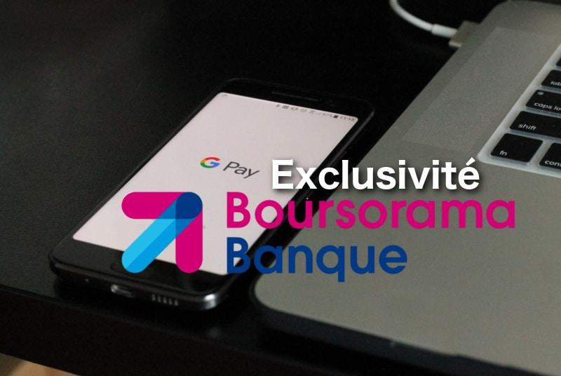 exclusivit clients boursorama banque google pay 01 banque en ligne. Black Bedroom Furniture Sets. Home Design Ideas