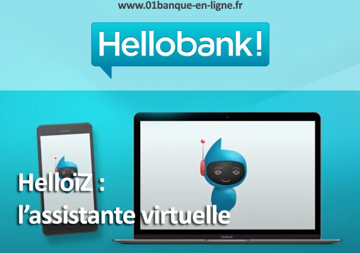 HelloïZ : l'assistante virtuelle d'Hello bank!