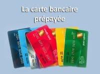 La carte bancaire prépayée