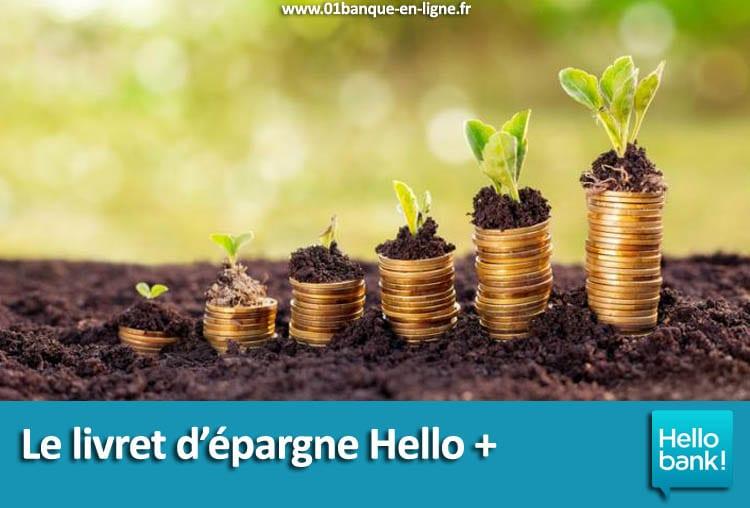 Le livret d'épargne Hello + Hello bank!
