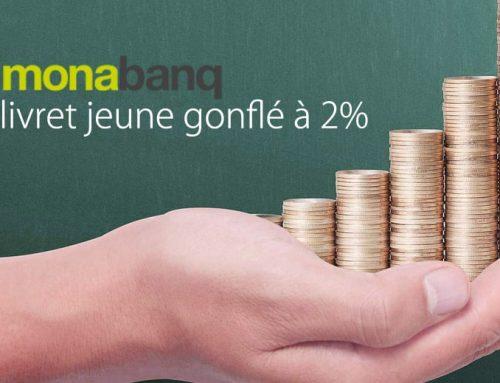 Monabanq et le livret jeune gonflé à 2%