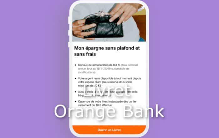 livret orange bank