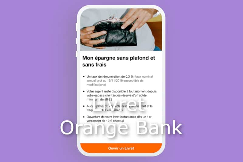 livret orange bank