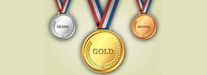 medaille pour la meilleure banque en ligne
