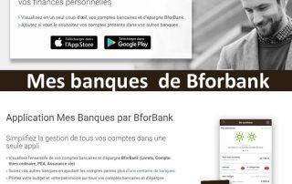 application mes banques de bforbank