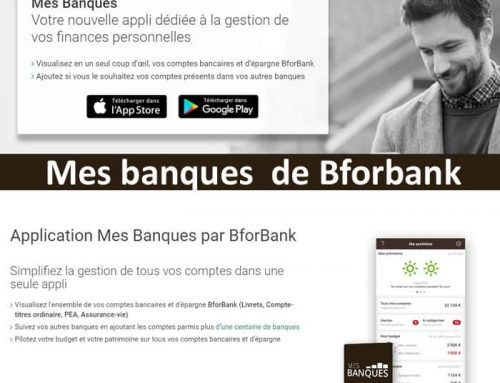 L'essentiel sur l'application «mes banques» de Bforbank