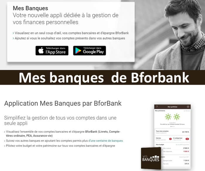 application mes banques de bforbank