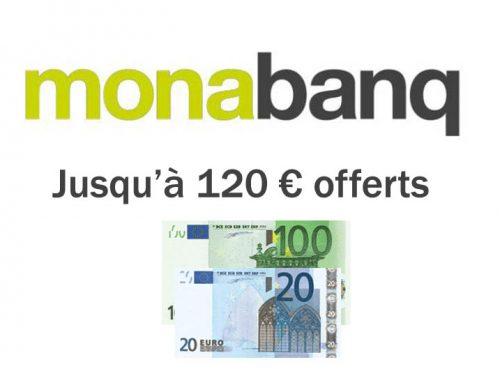 Nouvelle offre de bienvenue pour Monabanq