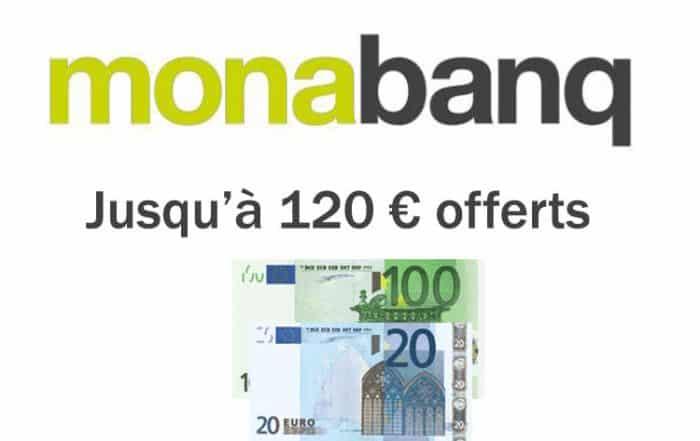 120 euros offerts avec monabanq