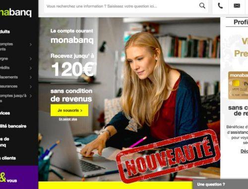 Un nouveau site et un nouvel Espace Client Monabanq