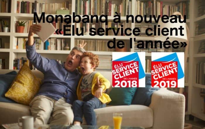 monabanq élu service client 2019