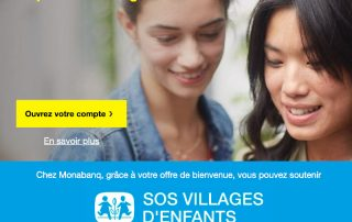 monabanq sos villages enfants