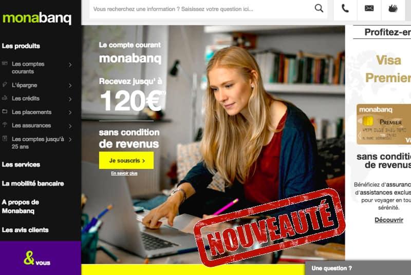 nouveau site monabanq