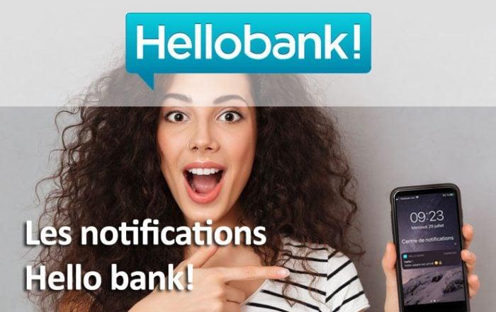 Les notifications mobiles par hello bank!