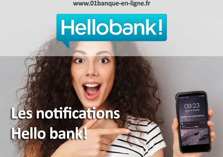 Les notifications mobiles par hello bank!