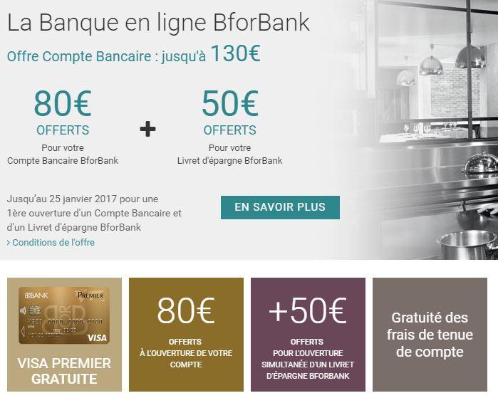 offre commerciale bforbank