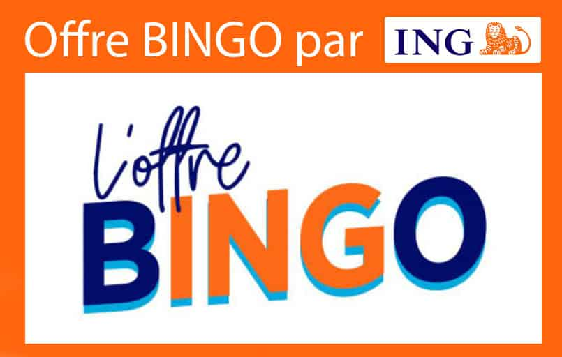 Offre bingo ing