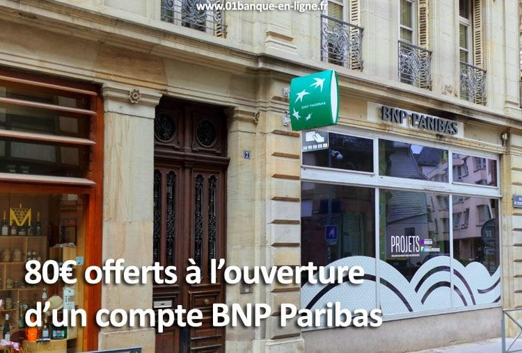 Offre ouverture de compte bnp paribas