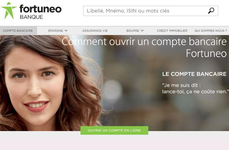 ouvrir compte bancaire fortuneo