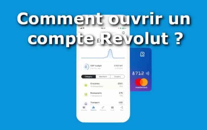 Comment ouvrir un compte Revolut