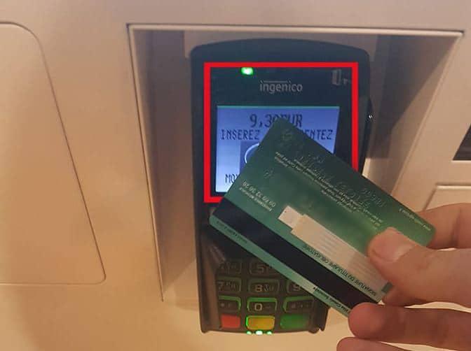 paiement carte bancaire sans contact