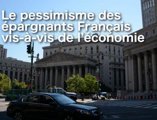 Le pessimisme des épargnants Français vis-à-vis de l'économie
