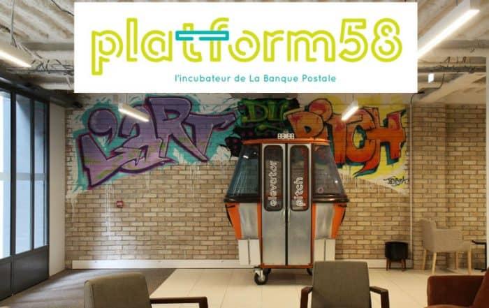 platform58 incubateur la banque postale
