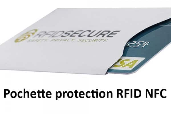 pochette protection carte bancaire rfid nfc