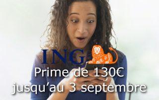 offre ING 130 euros