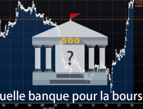 Quelle banque choisir pour la bourse ?