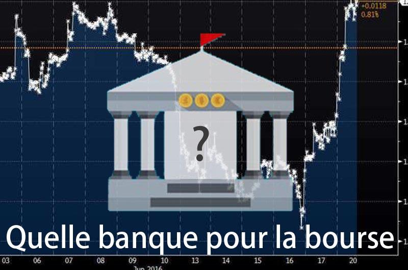 quelle banque choisir pour la bourse