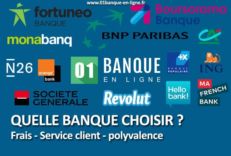 Quelle Banque Choisir 01 Banque En Ligne