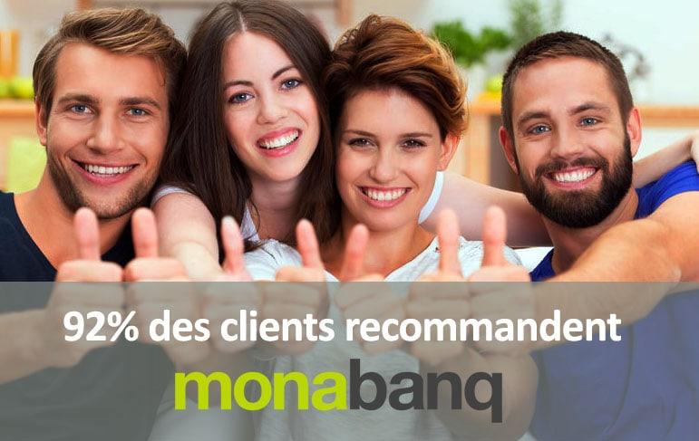 recommandation pour monabanq