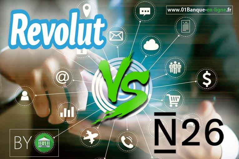 Banque revolut vs n26 banque