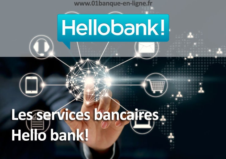 Les services bancaires Hellobank!