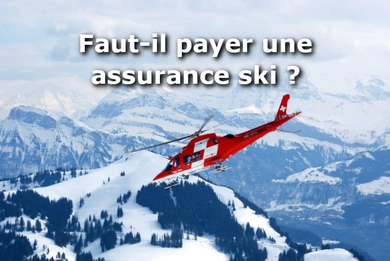 faut il payer une assurance ski en plus de son forfait 01 banque en ligne. Black Bedroom Furniture Sets. Home Design Ideas
