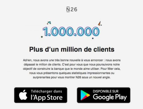 N26 fête ses 1 million de clients