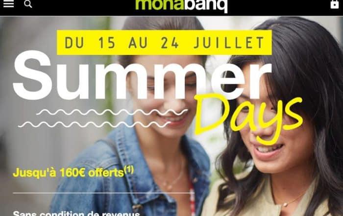 Summer days Monabanq