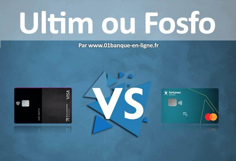 Ultim ou Fosfo : Comparaison des cartes