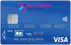 carte visa boursorama